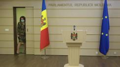 Declarațiile Monicăi Babuc în timpul ședinței Parlamentului Republicii Moldova din 19 martie 2021