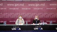 """Conferința de presă organizată de Centrul Național de Mediu cu tema """"Apele uzate în contextul Zilei Mondiale a Apei"""""""