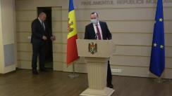 Declarațiile lui Vlad Batrîncea în timpul ședinței Parlamentului Republicii Moldova din 22 martie 2021