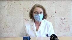 """Declarațiile medicilor de la Spitalul """"Parhon"""" din Iași: Program de recuperare a vârstnicilor care au trecut prin infecția cu COVID-19"""