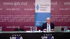 """Dezbaterea publică organizată de Agenția de presă IPN la tema """"Componentele confruntării politice și impactul ei asupra societății"""""""