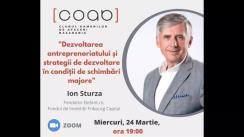 Clubul Oamenilor de Afaceri Basarabia. Invitat - Ion Sturza, fondator Elefant.ro și Fondul de Investiții Fribourg Capital