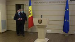Briefing de presă susținut de fracțiunea PSRM înainte de ședința Parlamentului Republicii Moldova din 25 martie 2021