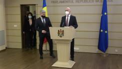 Declarațiile președintelui PDM, Pavel Filip, în timpul ședinței Parlamentului Republicii Moldova din 25 martie 2021