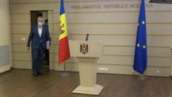 Declarația Platformei DA în timpul ședinței Parlamentului Republicii Moldova din 25 martie 2021
