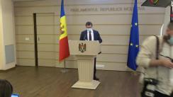 Declarațiile lui Igor Grosu în timpul ședinței Parlamentului Republicii Moldova din 25 martie 2021