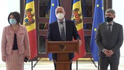 Consultările Președintelui Republicii Moldova, Maia Sandu, cu Fracțiunea Partidului Democrat din Moldova