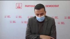 Conferință de presă susținută de deputatul Sorin Grindeanu, prim-vicepreședinte PSD, la Timișoara