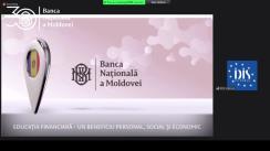 """Eveniment de lansare a campaniei de informare și sensibilizare """"Educația financiară – un beneficiu personal, social și economic"""""""