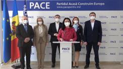 """Conferința de presă """"Gheorghe Cavcaliuc - Poziția Partidului Politic PACE cu privire la evenimentele politice din Republica Moldova"""""""