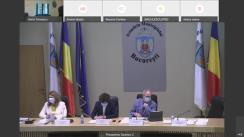Ședința extraordinară a Consiliului General al Municipiului București din 30 martie 2021