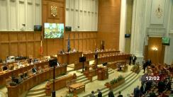 Ședința în plen a Camerei Deputaților României din 30 martie 2021