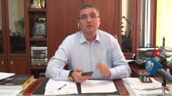 """Briefing de presă susținut de președintele Partidului Nostru, Renato Usatîi, privind """"VIP"""" vaccinarea antiCOVID-19"""