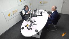 """Emisiunea """"Expertiza"""" de la postul de radio Sputnik Moldova. Invitat - Președintele PSRM, Igor Dodon"""