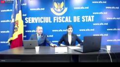 Evenimentul de lansare a noii pagini-web a Serviciului Fiscal de Stat