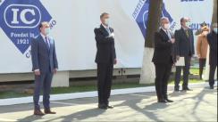 """Ceremonia organizată cu prilejul împlinirii a 100 de ani de la înființarea Institutului Național de Cercetare-Dezvoltare Medico-Militară """"Cantacuzino"""""""