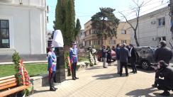 Inaugurarea bustului lui Octavian Goga în Parcul Copou, Iași