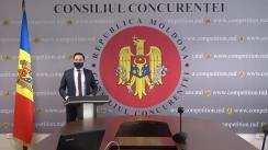 """Briefing de presă organizat de Consiliul Concurenței cu tema """"Înțelegeri de cartel"""""""