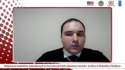 """Lansarea Raportului """"Elaborarea hotărârilor judecătorești și instruirea privind redactarea textelor juridice în Republica Moldova"""""""