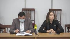 """Conferință de presă organizată de fracțiunea PAS din CMC, cu tema """"Alianța PPDA-PSRM au votat distrugerea nucleului istoric și construcția unui ghetou la Botanica"""""""