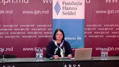 """Dezbateri publice organizate de Agenția de presă IPN din ciclul """"Dezvoltarea culturii politice în dezbateri publice"""" cu tema """"O privire în viitor după un an de pandemie"""""""