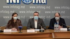 """Conferință de presă organizată de companiile Diazchim, Bioprotect, Agrostoc și Fertilitatea-Chișinău cu tema """"Reacția companiilor în contextul acuzațiilor nefondate lansate de Consiliul Concurenței la adresa întreprinderilor menționate și a deciziei CC, prin care cele patru companii au fost amendate cu suma de 91.034 milioane lei"""""""