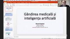 """Conferința Prof. dr. Eduard Apetrei: """"Gândirea medicală și inteligența artificială"""", organizată de Universitatea de Medicină și Farmacie Grigore T. Popa Iași"""