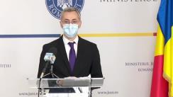 Conferință de presă prilejuită de prezentarea Strategiei Naționale privind recuperarea creanțelor provenite din infracțiuni