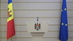 """Briefing de presă susținut de către deputatul Partidului """"ȘOR"""", Reghina Apostolova, și deputatul Platformei parlamentare """"Pentru Moldova"""", Elena Bacalu"""