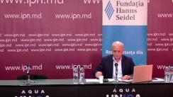 """Dezbatere publică organizată de Agenția de presă IPN la tema """"Metodele alternative de vot: beneficii și riscuri, pro și contra"""""""
