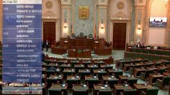 Ședința în plen a Senatului României din 12 aprilie 2021
