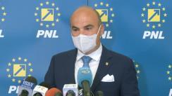Declarație de presă susținută de Prim-vicepreședintele PNL, Rareș Bogdan