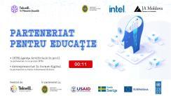 """Evenimentul """"Parteneriat pentru Educație"""" în cadrul proiectului """"Tekwill în fiecare școală"""""""