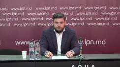 """Conferința de presă organizată de Avocatul Iosip Andrei cu tema """"Reacția SA """"Cariera Micăuți"""" la acuzațiile aduse de Comisia de Anchetă a modului de exploatare a substanțelor minerale utile"""""""