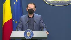 Declarații de presă susținute de Prim-ministrul României, Florin Cîțu