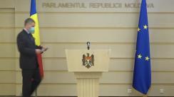 """Briefing de presă al deputatului Octavian Țîcu cu tema """"Scrisoare comună PMP - PUN către conducerea României privind vaccinarea cetățenilor Republicii Moldova"""""""