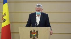 Briefing de presă al Vicepreședintelui Parlamentului, deputatului Fracțiunii ACUM Platforma DA, Alexandru Slusari, la tema exportului de grâu