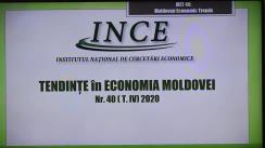 """Conferință de presă dedicată lansării unui nou număr (anual) al publicației """"Tendințe în Economia Moldovei"""""""