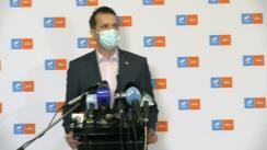 Conferință de presă susținută de Grupul Parlamentar al Alianței USR PLUS pe tema situației din sănătate