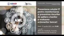 Premieră în regiune: Lansarea soluției IT a BNM pentru monitorizarea și prevenirea spălării banilor și finanțării terorismului