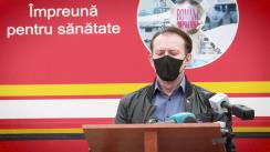 Declaratie de presă susținută de premierul României, Florin Cîțu, după ședința Centrului Național de Conducere și Coordonare a Intervenției (CNCCI)