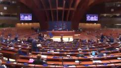 Ședința Adunării Parlamentare a Consiliului Europei