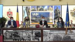 Conferință de presă susținută de Primarul Municipiului Iași, Mihai Chirica