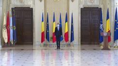 Ceremonia de depunere a jurământului de învestitură a ministrului sănătății, doamna Ioana Mihăilă