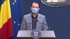 Declarații de presă susținute de  Prim-ministrul României, Florin Cîțu, după reuniunea Comitetului interministerial pentru revenirea României la normalitate începând cu 1 iunie 2021, în contextul pandemiei de COVID-19