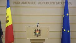 Declarațiile lui Igor Grosu în timpul ședinței Parlamentului Republicii Moldova din 23 aprilie 2021