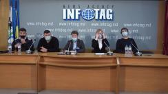 """Conferință de presă organizată de un grup de inițiativă a restaurator din Chișinău cu tema """"Un apel de urgență al restauratorilor din Chișinău către guvern"""""""