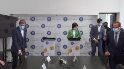 Conferință de presă susținută de Ministrul Sănătății din România, Ioana Mihăilă