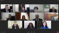 Ședința Consiliului Superior al Magistraturii din 27 aprilie 2021