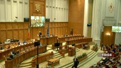Ședința în plen a Camerei Deputaților României din 27 aprilie 2021